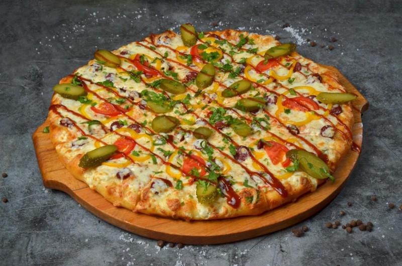 Пицца Барбекю Ветчина-Салями 40