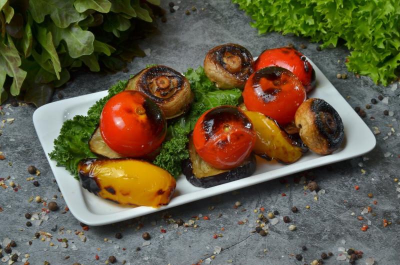 Овощи на мангале (овощной микс)
