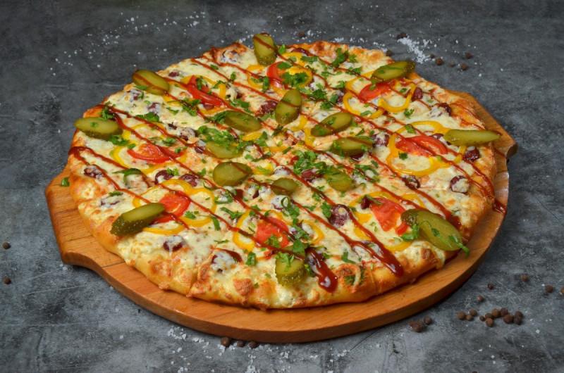 Пицца Барбекю Куриное 32