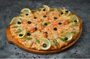 Пицца С креветками 32